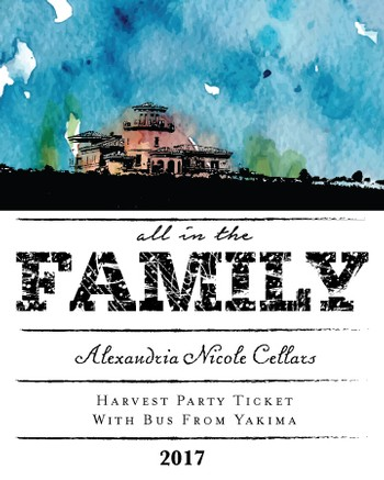 Harvest Party Ticket - Yakima