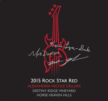 2015 Rock Star Red