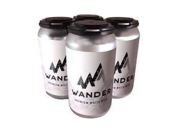 4-Pack Wander Canned White Wine