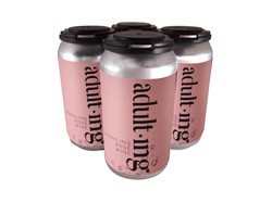 4-Pack Adulting Canned Rose Wine