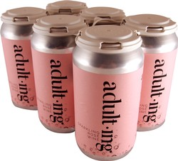 6-Pack Adulting Canned Rose Wine