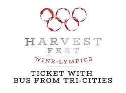2019 Harvest Fest Ticket + TriCities Bus
