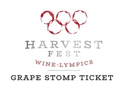 2019 Grape Stomp Ticket
