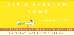 Sip & Stretch Yoga 04/07/18