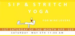 Sip & Stretch Yoga 05/05/18