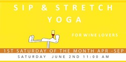 Sip & Stretch Yoga 06/02/18