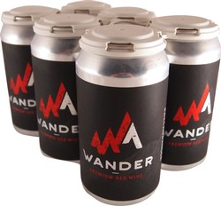 6-Pack Wander Canned Red Wine