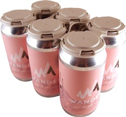 6-Pack Wander Canned Rose Wine