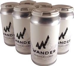 6-Pack Wander Canned White Wine